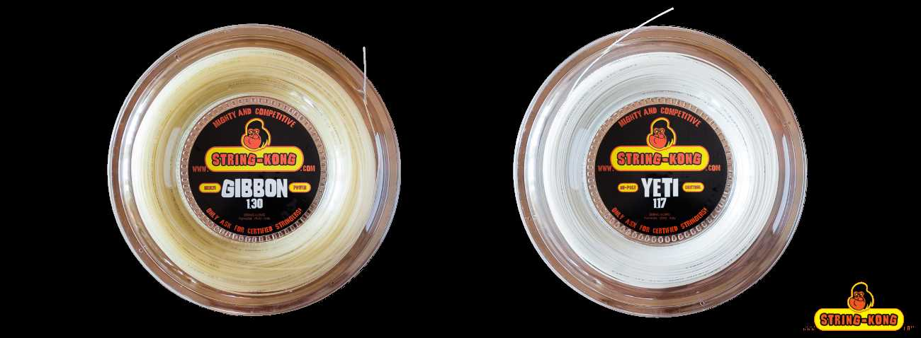 Ibrido reverse String-Kong Gibbon 1.30 e Yeti 1.17: il nostro test