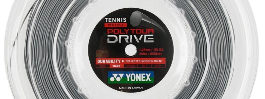 Corda Yonex Poly Tour Drive 1.25: il nostro test