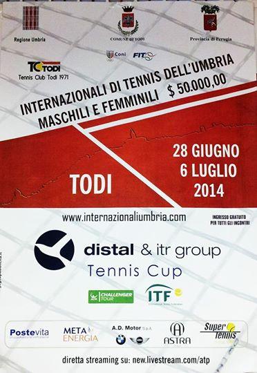 Internazionali di tennis dell'umbria maschili e femminili