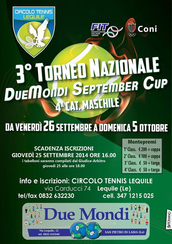 DueMondi September Cup