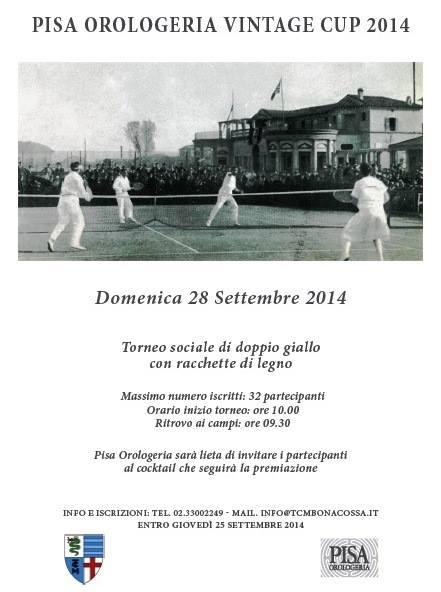 Pisa Orologeria Vintage Cup 2014