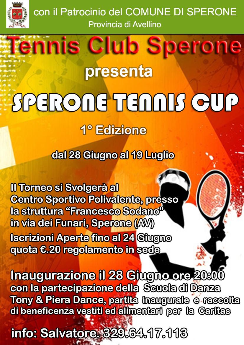 Sperone Tennis Cup 1° Edizione