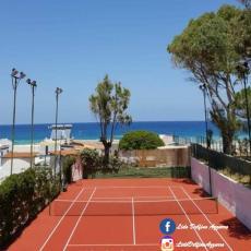 """Campi da tennis presso """"Lido Delfino Azzurro"""""""